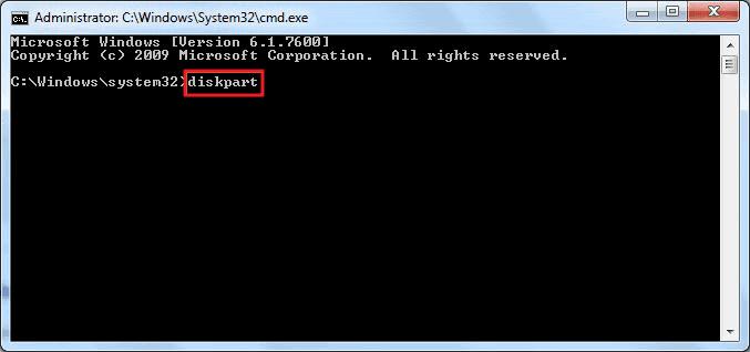 diskpart-format-step1