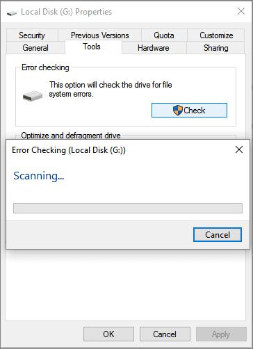 error checking tool